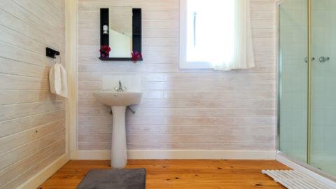 Casas de banho idênticas
